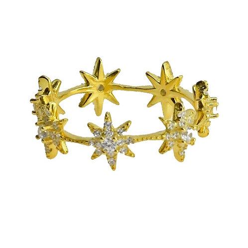r starburst band ring