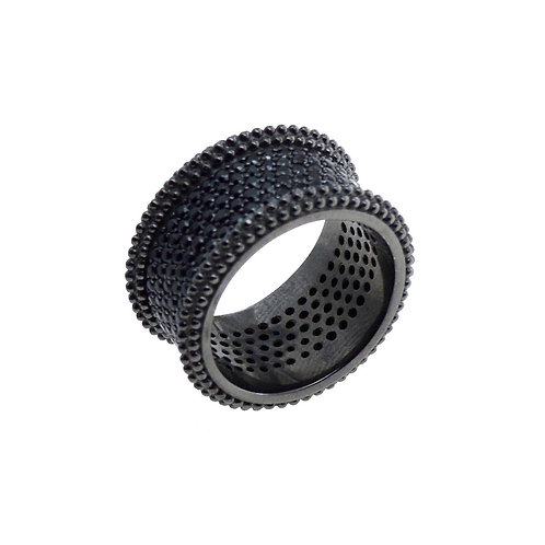 pave black diamon