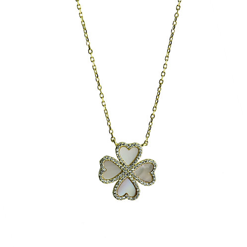 love clover necklace