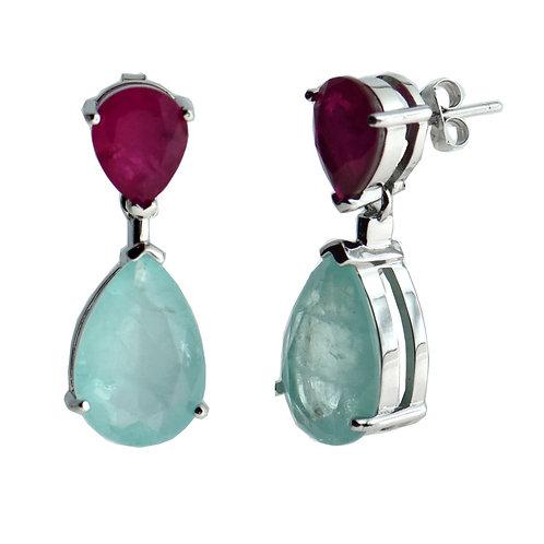 pear shaped drop  earring