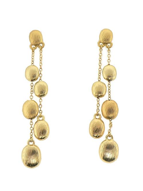 brash gold earring
