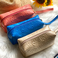 BOHEMIAN MAKEUP BAG • LEATHER TOILETRY BAG • COSMETIC BAG • TRAVEL BAG • GIFTS FOR HER