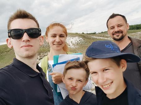 Краматорчанин Дмитрий Кононов завершает съемки фильма «ЧайлдХуд»