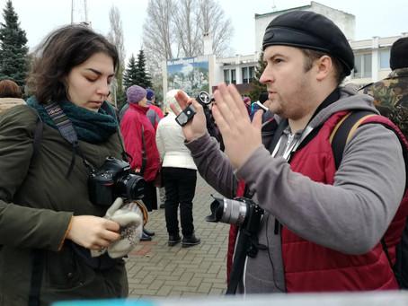 Съёмки документального фильма в Мучкапском районе (Тамбовская область)