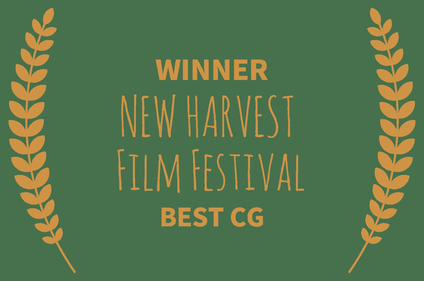 Победа в номинации Лучшая работа CG