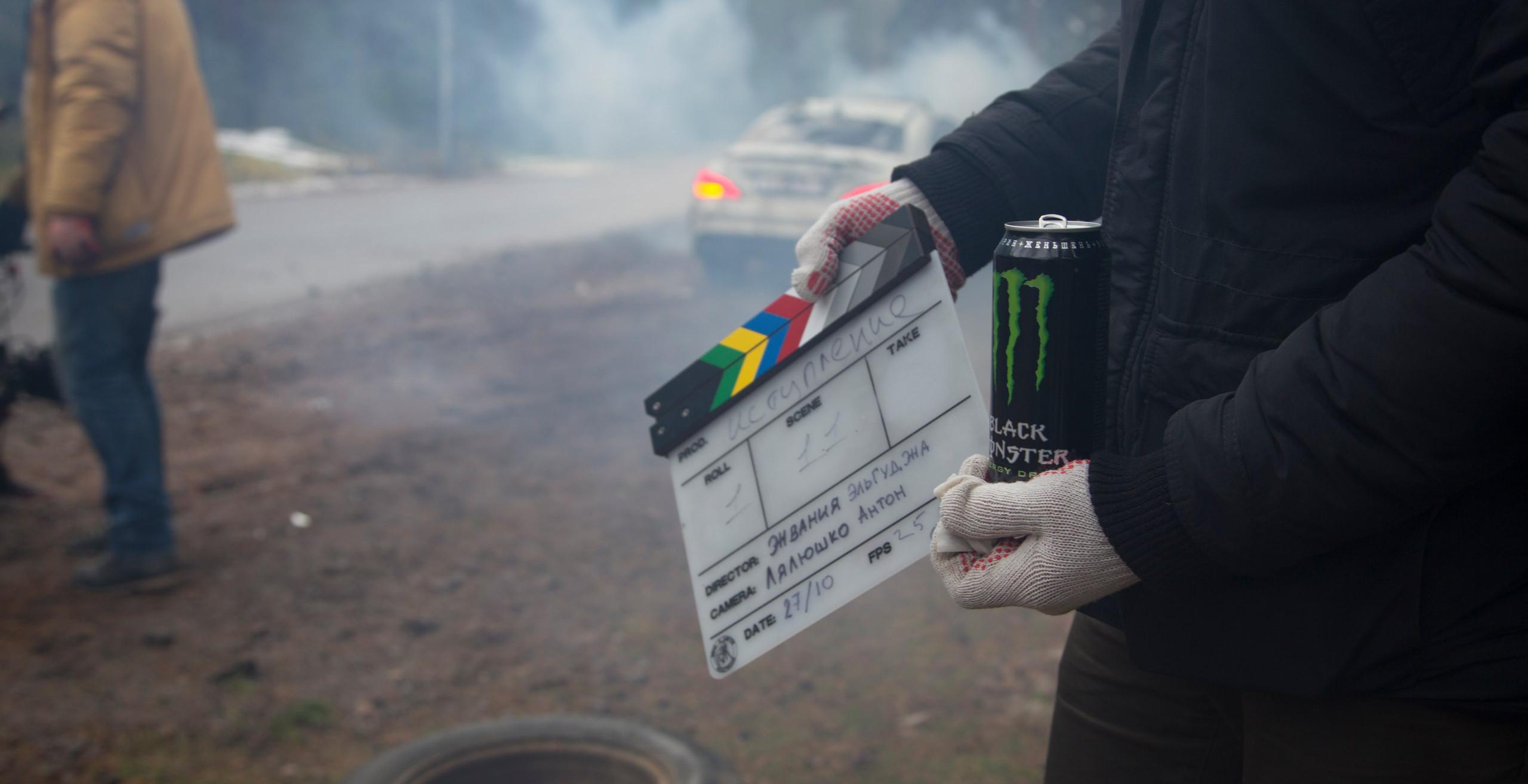 """Backstage фильма """"Исступление"""".  *фото принадлежит North Film Factory"""