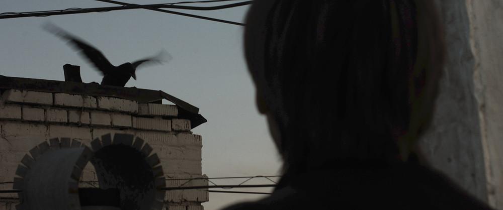 """Кадр из короткометражного фильма """"7...9""""."""