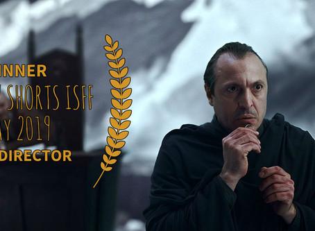 к/ф «И тут он открывает глаза» среди победителей кинофестиваля Moscow Shorts ISFF - MAY 2019 AWARDS!