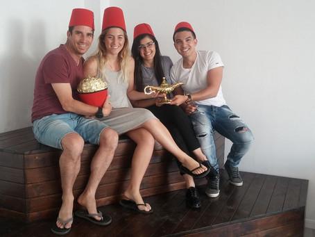 """Открытие квеструма """"Aladdin"""" в Израиле!"""