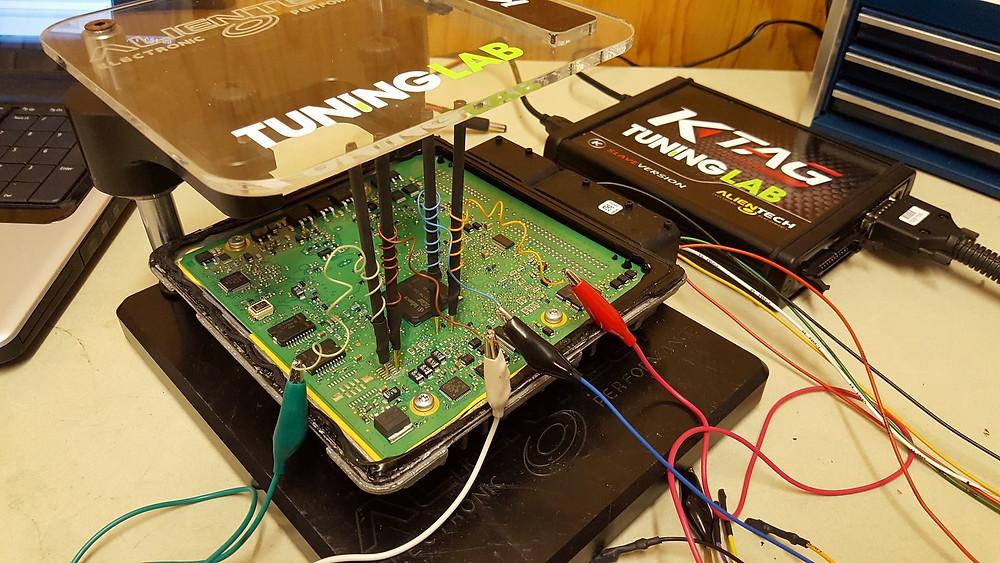 Bench tuning at Tuning Lab