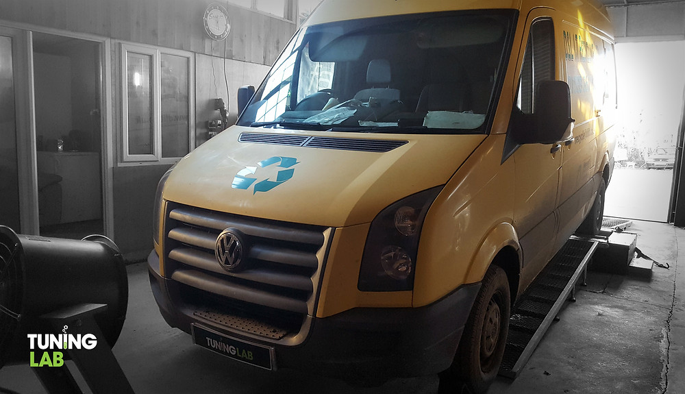 VW Crafter custom remap including DPF & EGR delete