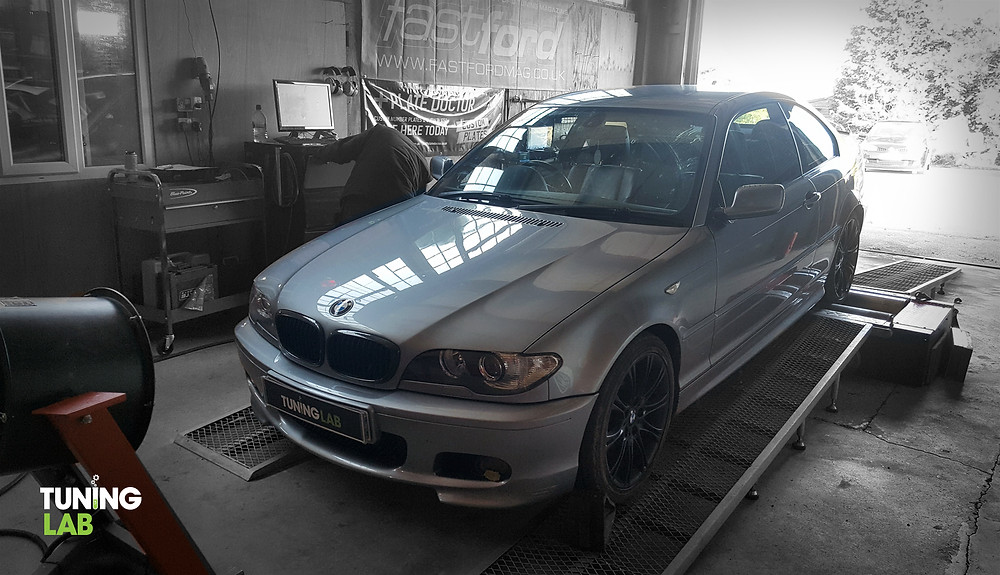 BMW 330D custom remap and rolling road at Tuning Lab