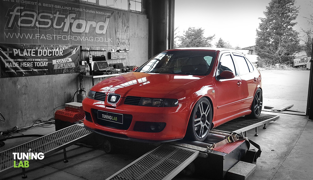 Seat Leon Cupra in for a stage 2 remap at Tuning Lab
