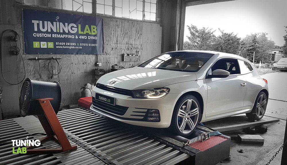 VW Scirocco R-Line remap