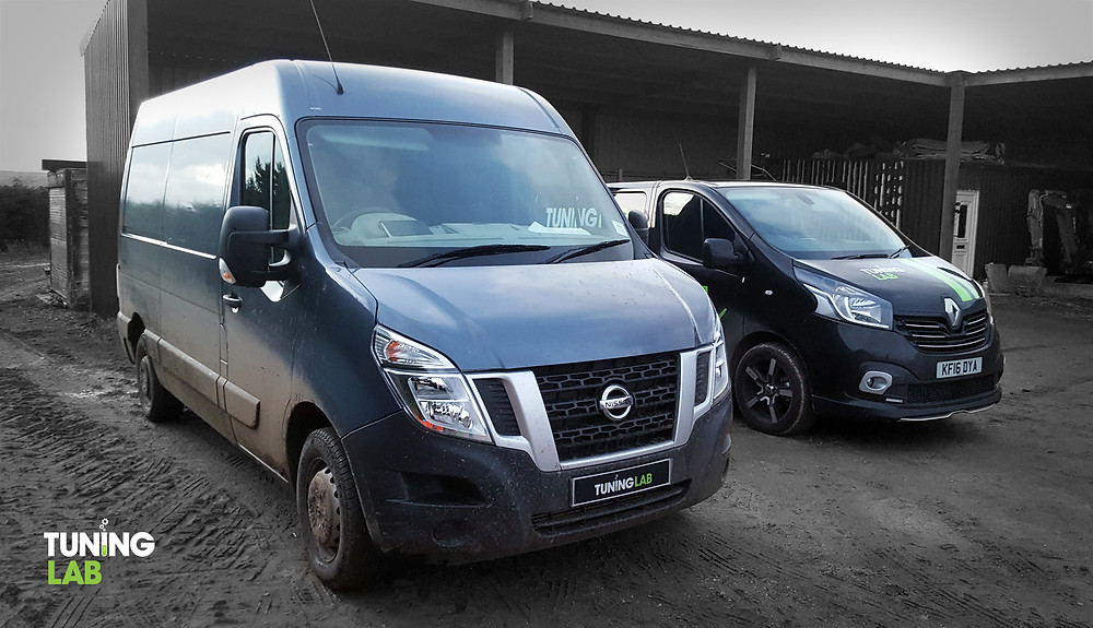 Mobile remap on this Nissan NV400