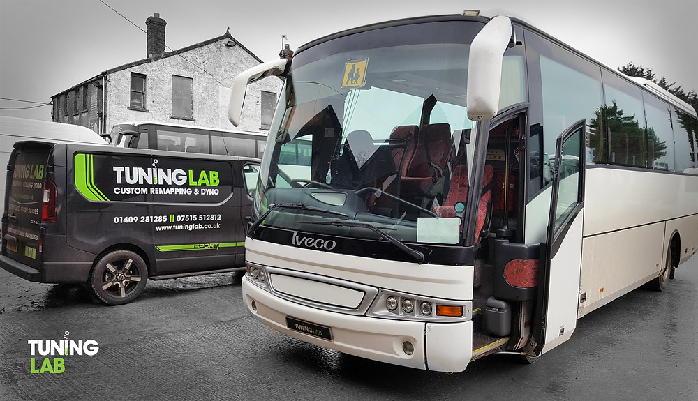 Iveco coach remap by Tuning Lab