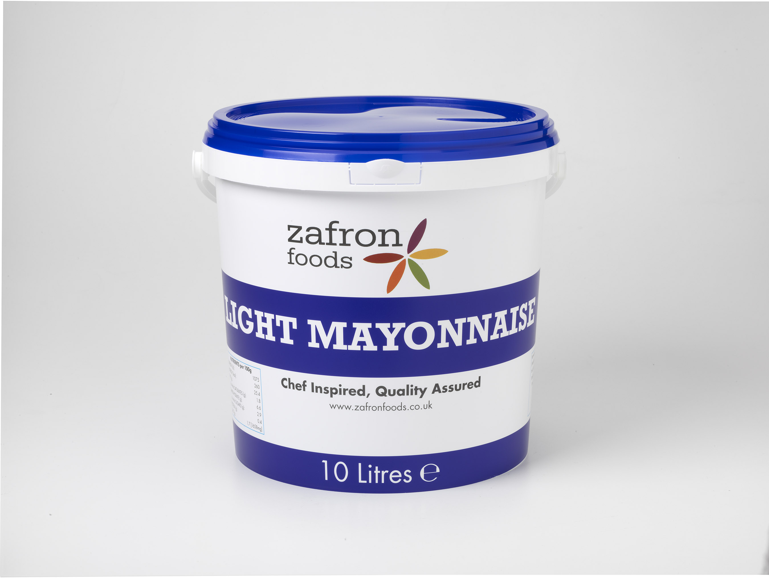Zafron Light Mayonnaise 10L