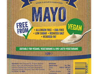 Vegan Mayonnaise - Now Available!