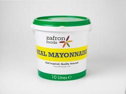 Zafron Real Mayonnaise 10L