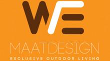 WE-Maatdesign heeft een nieuw logo en nieuwe huisstijl!!
