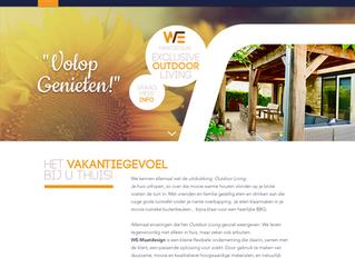 Nieuwe website WE-Maatdesign ONLINE!!