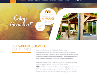Nieuwe website WE-Maatdesign ONLINE!!