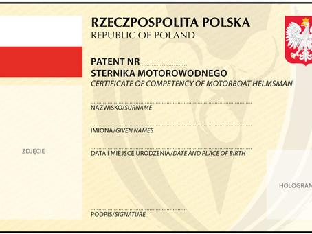 Patenty Motorowodne
