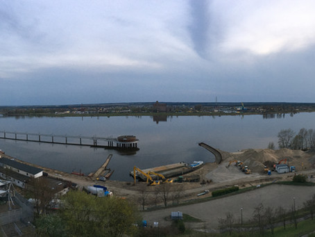 Przebudowa nabrzeża w Płocku