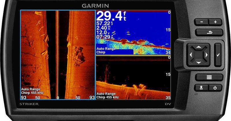 Sonda Garmin sv7 Plus z rysowaniem map (batymetria)