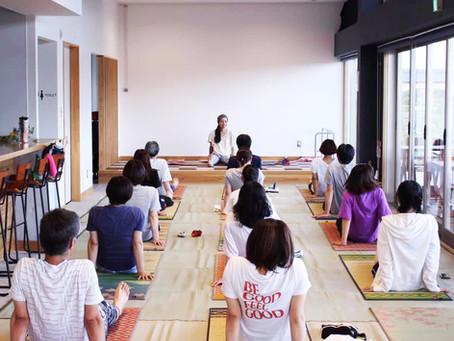 【イベント】い草ヨガ教室