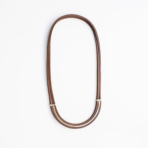 Collier Double cercle - Ref : PV 8