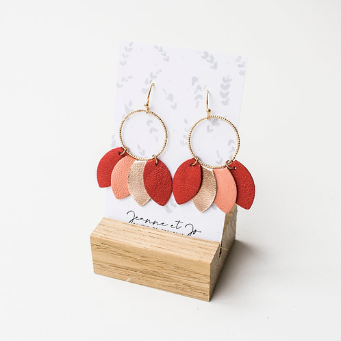 Boucles d'oreilles Frida - Ref : JJ 38