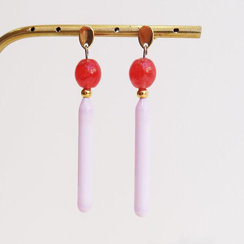 Boucles d'oreilles pendentes - Ref : PV 5