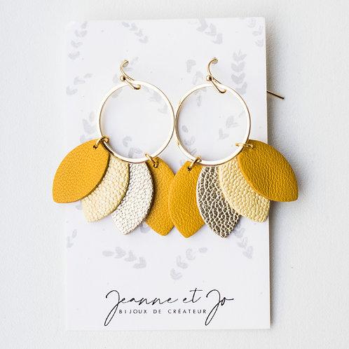 Boucles d'oreilles Frida - Ref : JJ 2