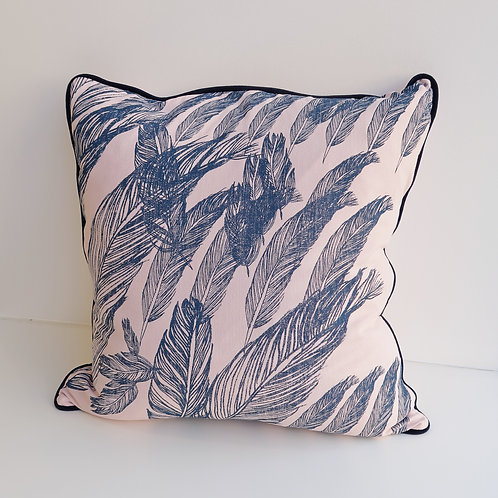 Coussin Plumes rose - Ref : DDM 4
