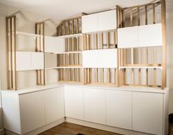 Création d'un espace bureau/bibliothèque Les Créateurs Chevreuse