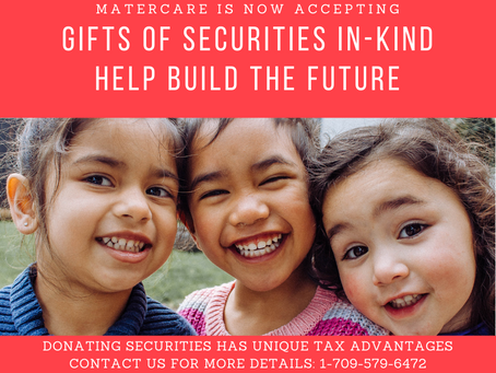 Give the gift of securities in-kind