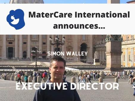 MaterCare announces Simon Walley, Executive Director