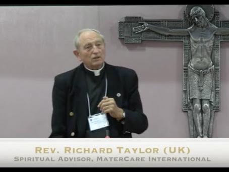 MaterCare Celebrates Fr. Richard Taylor's Diamond Jubilee!
