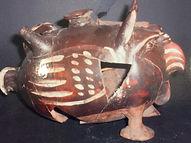 Museo Mandralisca vaso a forma di gallo
