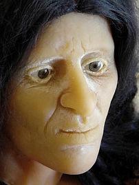 volto ricostruito della prima donna siciliana