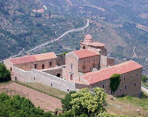 convento di san filippo di fragalà nel paese di frazzanò