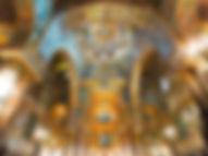 Interno della chiesa della martorana palermo