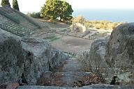 teatro tindari Cavea