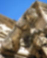 Gocciolatoio del portico a forma di belva