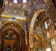 Interno della Cappella Palatina Palermo