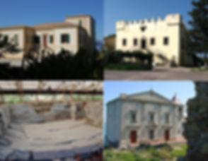 Capo d'Orlando, villa piccolo, castello bastione e villa bagnoli