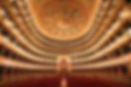 il maestoso interno del teatro massimo