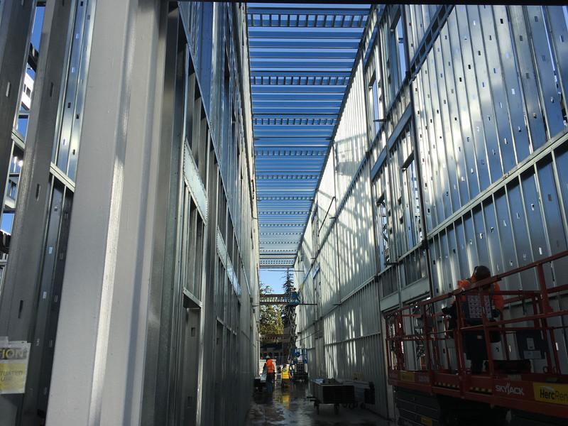 Interior Framing Corridors