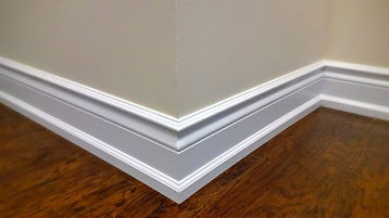 Baseboard trim installation